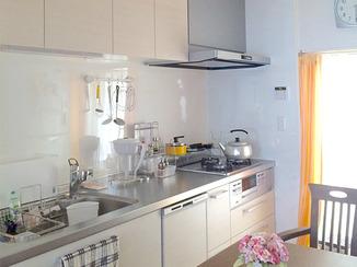 キッチンリフォーム 最新設備でお料理も楽しくなるキッチン