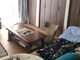 内装リフォーム 物置部屋が、家族の集まる心地よいリビングに