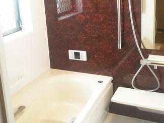 バスルームリフォーム 暖かくホッとできる浴室空間